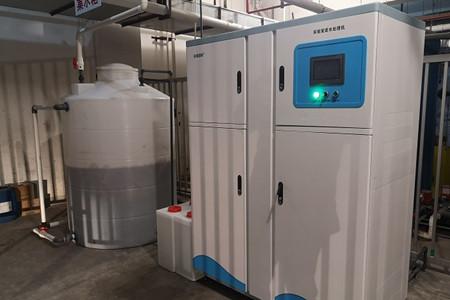 优普实验室废水处理设备成功入驻中华鲟研究所